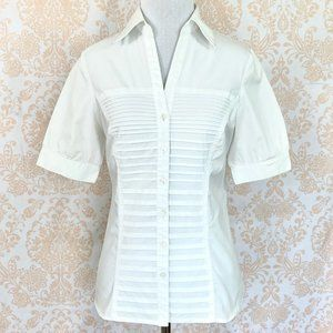 Signature by Larry Levine pleated front bl…